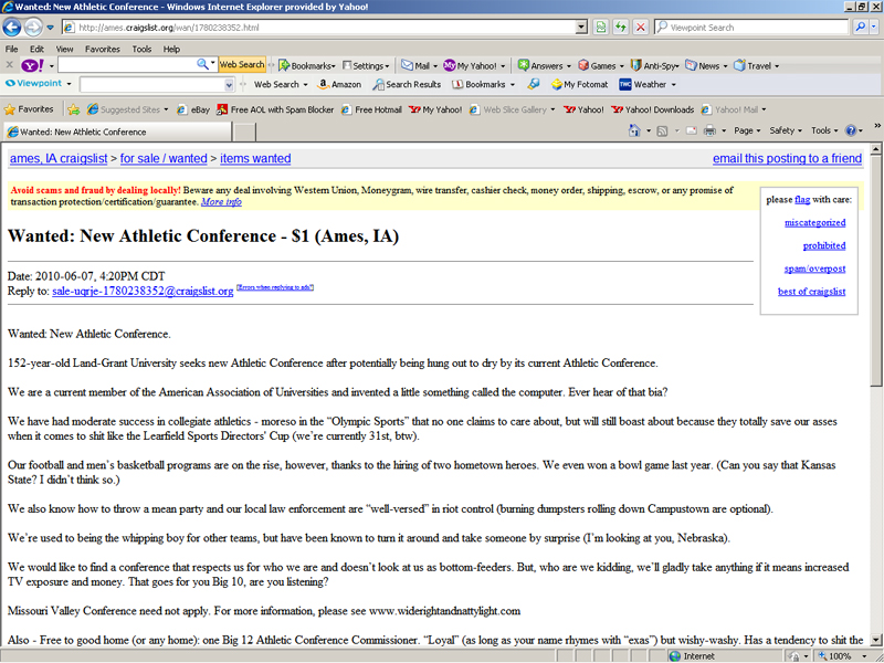 list of major colleges search craigslist all state